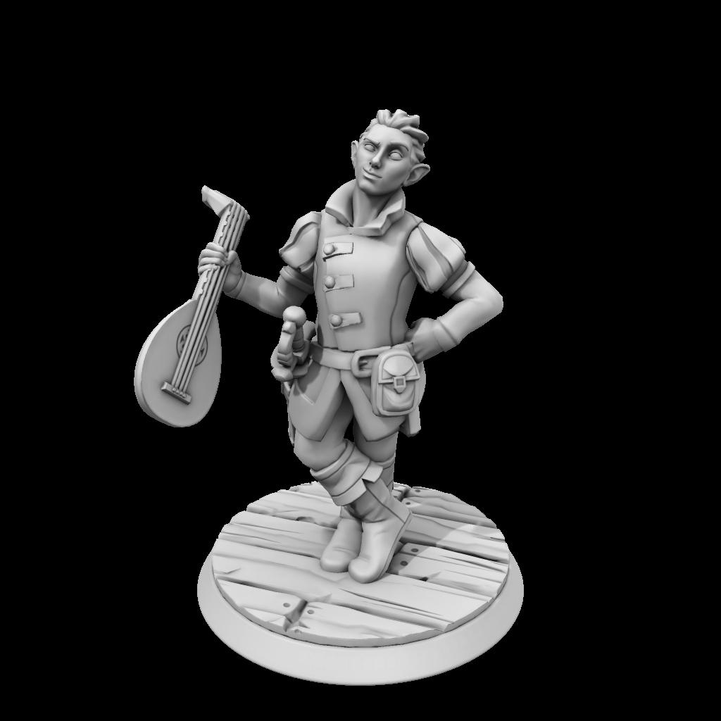 HeroForge-Figur von Aélias